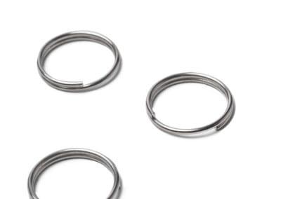 Steel plated rings