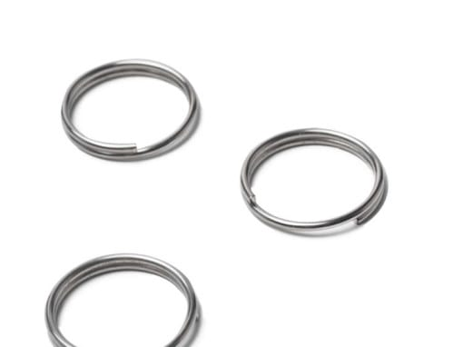 Steel plated rings