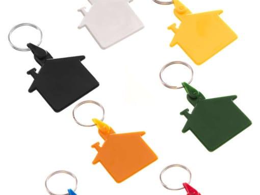 """Porta-Chaves Popular """"Casa"""""""
