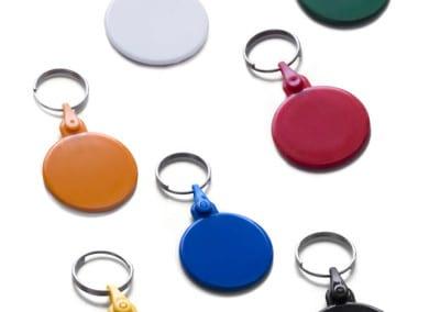 """Key ring Pop """"Round"""""""