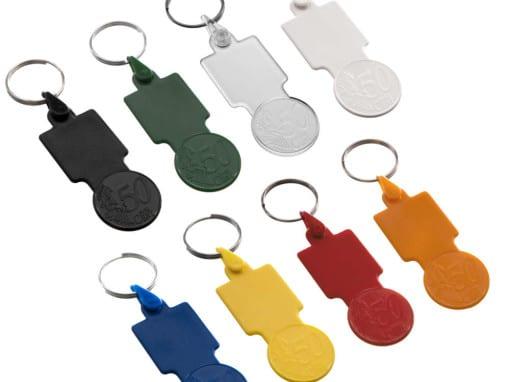 Porta-chaves 0,50€ Quadrado