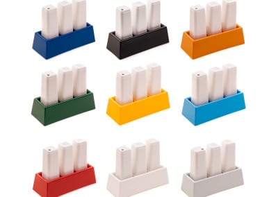 Salt/Peper/Toothpick Dispenser Set